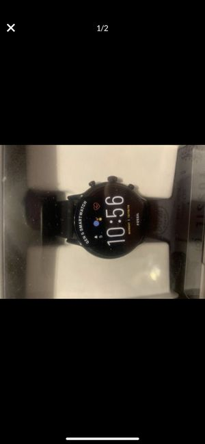 Men's fossil smart watch for Sale in Irving, TX
