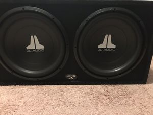 Jl audio 15inch competition speakers for Sale in District Heights, MD