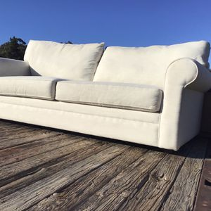 Two Cushion Off White Couch for Sale in El Cajon, CA