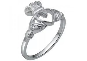 New, Classic Diamond Claddagh Ring, Size 7 for Sale in Tampa, FL