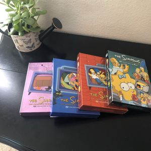 The Simpsons Collector Edition Seasons 3-5 & 8 for Sale in Tacoma, WA