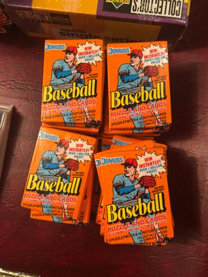baseball puzzle and cards for Sale in Cinnaminson, NJ
