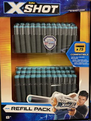 Zuru XShot Dart Refill Pack - 75 Darts - Compatible with Nerf - $5 EACH - 4 Available for Sale in Fort Lauderdale, FL