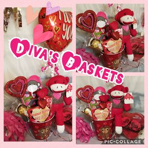 Cute Sock Monkey Gift Basket for Sale in Laredo, TX