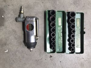 Impact wrench, sockets, air for Sale in Clackamas, OR
