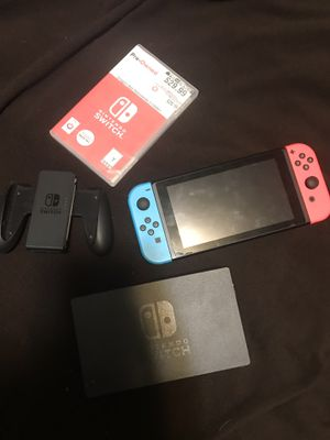 Nintendo Switch with DragonBall Xenoverse 2 for Sale in Smyrna, GA