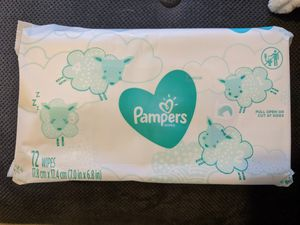 Pampers brand baby wipes for Sale in San Diego, CA