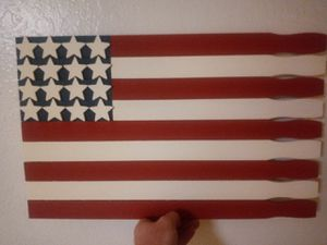 hand made American wood flag for Sale in Clovis, CA