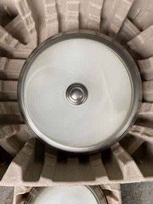 Nickel colored light fixtures for sale for Sale in Puyallup, WA