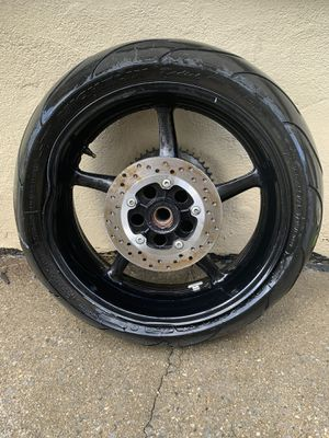 2007 Yamaha YZF R6 Rear Rim for Sale in Staten Island, NY