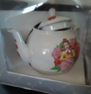 Disney Beauty and the Beast. Belle Tea Pot for Sale in Rialto, CA