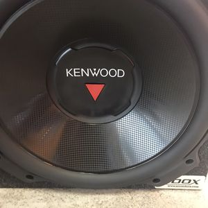 Subwoofer KENWOOD brand New never used 950W for Sale in Baltimore, MD