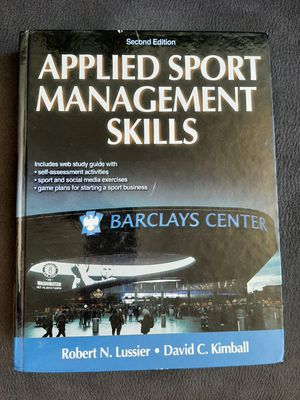 APPLIED SPORT MANAGEMENT SKILLS Second Edition Lussier • Kimball for Sale in PA, US