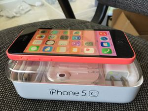 iPhone 5c excellent condition factory unlocked for Sale in VA, US