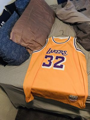 Yellow magic Johnson jersey for Sale in Los Angeles, CA