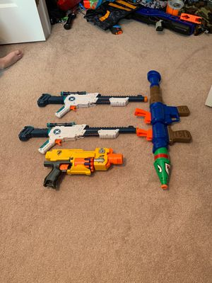 NERF Dart Guns, Supersoaker, and X-Shot for Sale in Alexandria, VA
