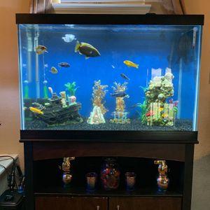 65 Gallon Aquarium Made By Aqueon for Sale in Sugar Land, TX