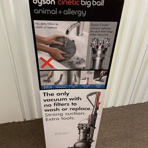 DYSON vacuum cleaner Cinetic Big Ball Animal + Allergy Filter-Free UNDER WARRANTY for Sale in Miami, FL