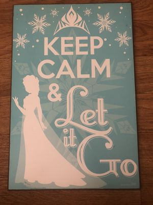 Elsa , Let it Go , Home Decor , Room Decor , Kids , Canvas for Sale in San Diego, CA
