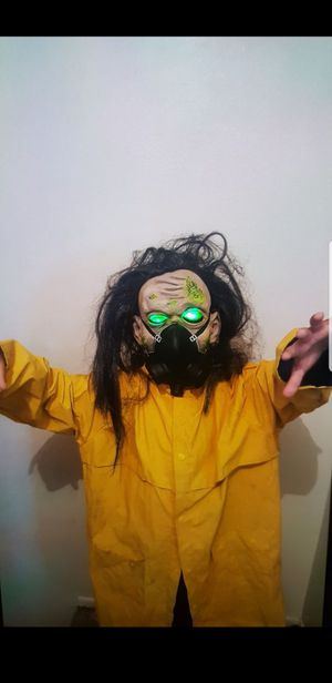 Kids zombie mask will fit adults for Sale in Pasadena, CA