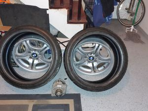 BMW RIMS AND TIRES FOR SALE for Sale in Virginia Beach, VA