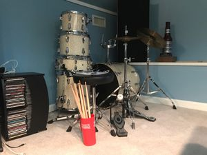 Drum Set (Used) for Sale in Apex, NC