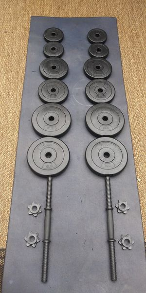 Adjustable dumbbells weights set.4x5lbs.4x2.5lbs.4x1.5lbs.total.40lbs.brand new in box for Sale in Long Beach, CA