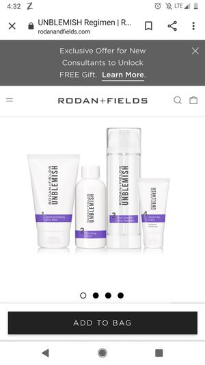 Rodan and Fields Unblemished Line, Still In Box for Sale in Rocklin, CA