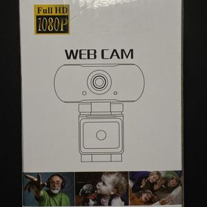 1080P Webcam with built-in Microphone for Sale in Fresno, CA