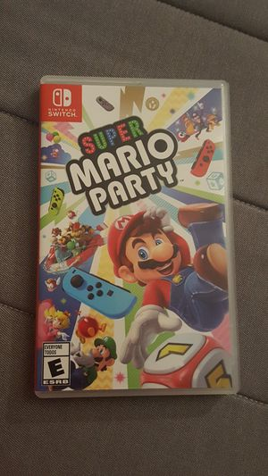 Mario party switch for Sale in Cupertino, CA