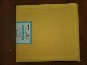 Yellow 100% cotton fabric for Sale in Dixon, MO