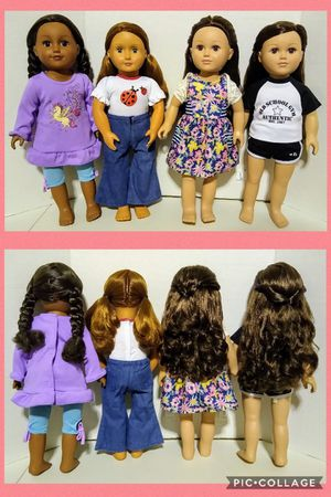 "Og 18"" inch dolls / like american girl dolls for Sale in Ontario, CA"