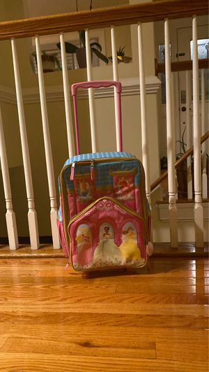 Disney princess suitcase for Sale in Annandale, VA