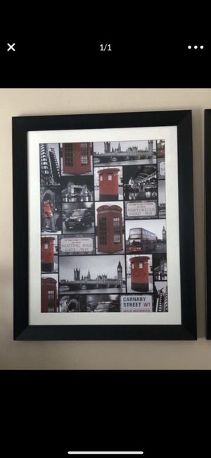 London framed picture art for Sale in Hollywood, FL