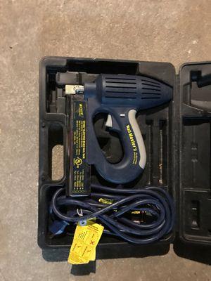 Nail gun master 2 electric brad gun for Sale in Philadelphia, PA