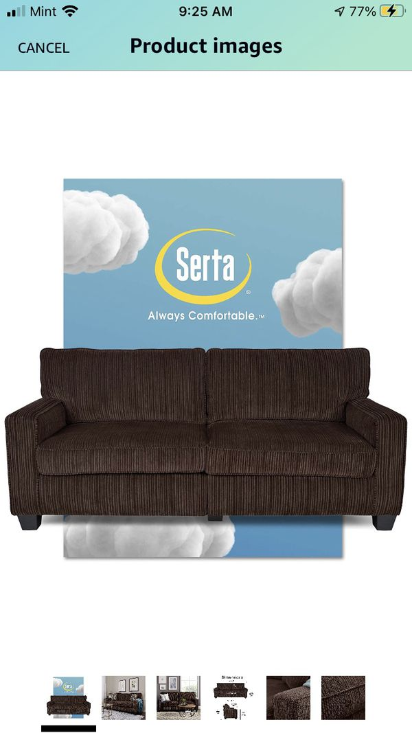 "Cheap Serta 73"" Sofa"
