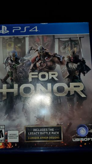For honor ps4 game for Sale in Tacoma, WA