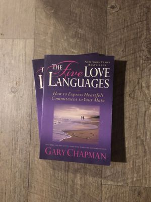 (2) The Five Love Languages by Gary Chapman for Sale in Buda, TX