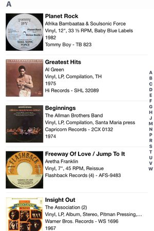 Pics of list of lp albums available to buy(message me if interested) for Sale in Trussville, AL