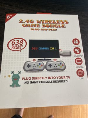 Game dongle for kids for Sale in San Jose, CA