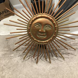 Metal sunburst for Sale in Baltimore, MD