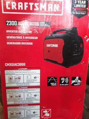 Craftsman cmxgiac3000 generator for Sale in Tampa, FL