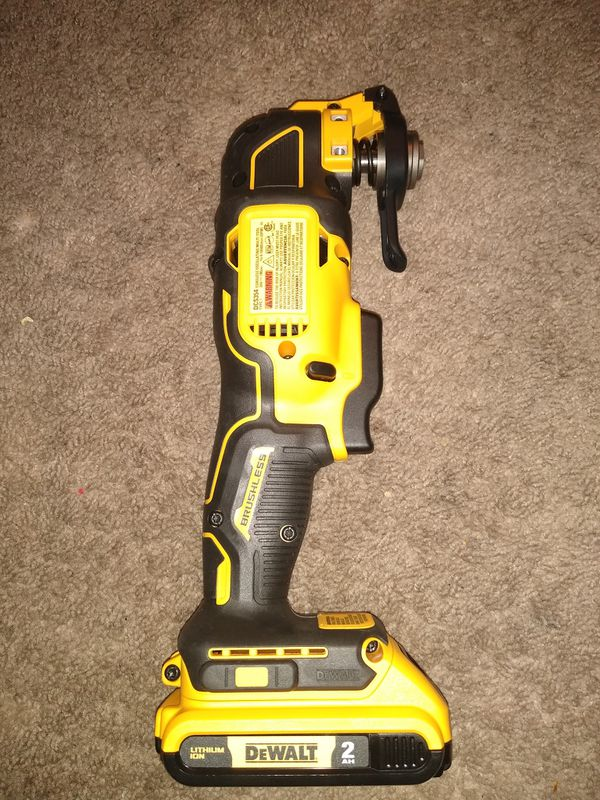 Multi-tool DeWalt 20v BRUSHLESS whit 1 battery
