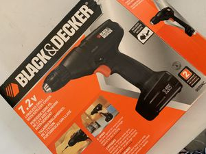 Black & Decker cordless drill for Sale in San Antonio, TX