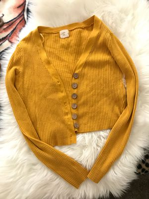 Yellow cardigan for Sale in Long Beach, CA