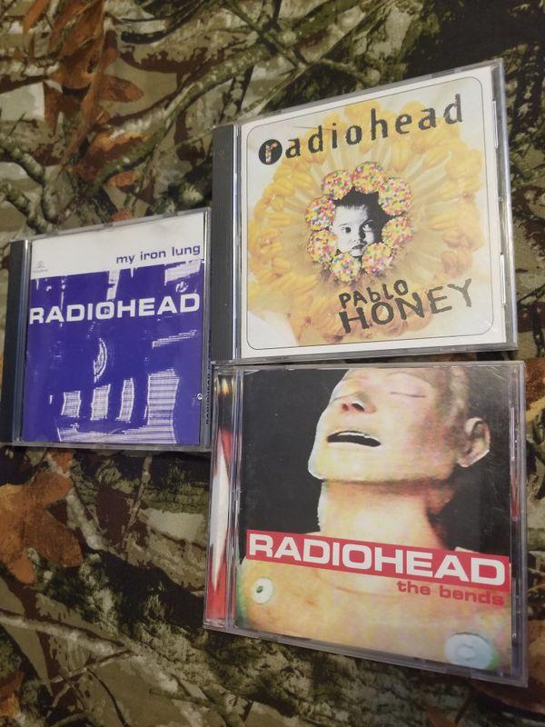 Radiohead CD lot