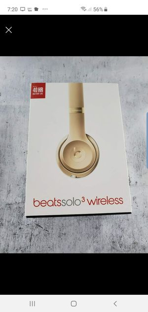 Beats Solo 3 Wireless Gold for Sale in San Leandro, CA