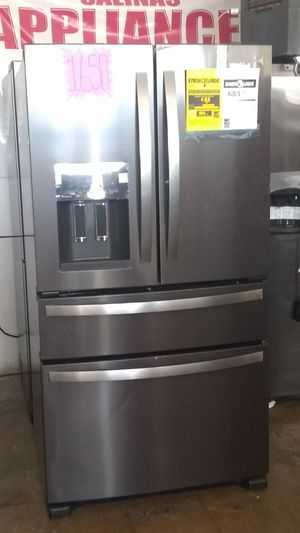 NEW. NUEVO WHIRLPOOL BLACK STAINLESS 4 DOOR FRENCH. YES Already included TAX ya incluidos. for Sale in Grand Prairie, TX