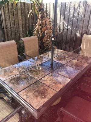 Patio furniture and gas grill for sale for Sale in West Palm Beach, FL