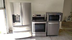 Stainless steel kitchen appliances for Sale in Phoenix, AZ